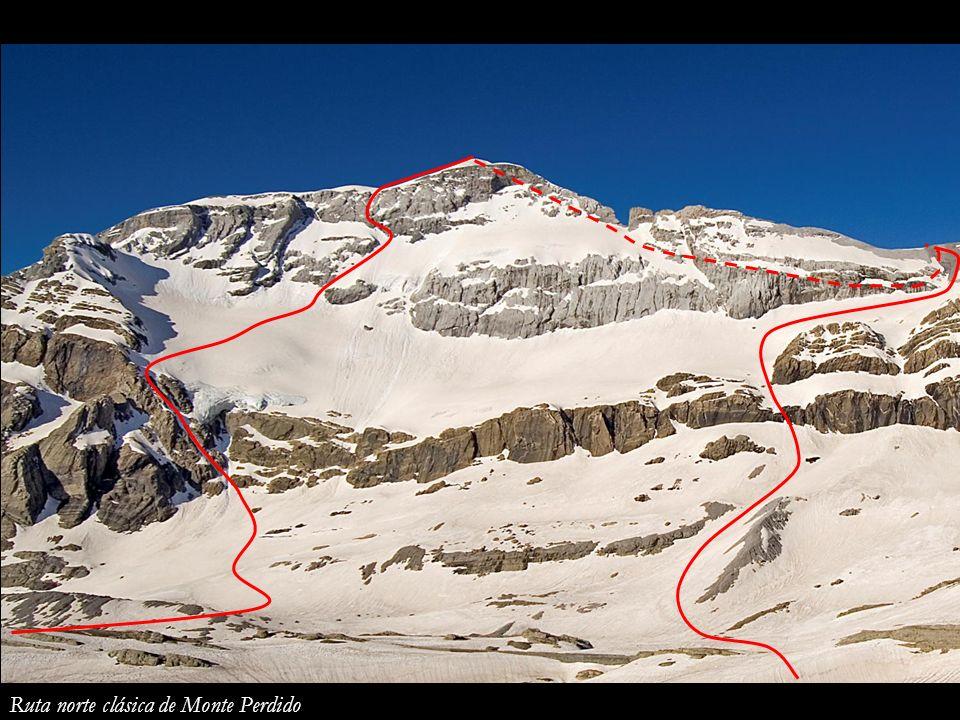 Monte Perdido desde Tucarroya