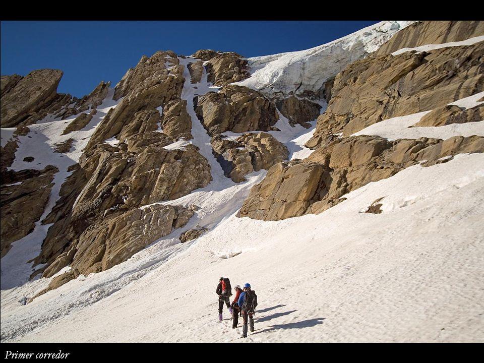 Lomo y cima de Monte Perdido