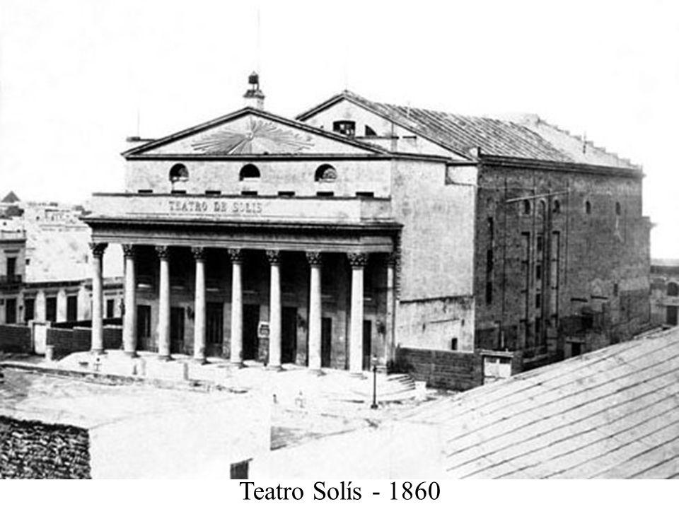 Teatro Solís - 1860