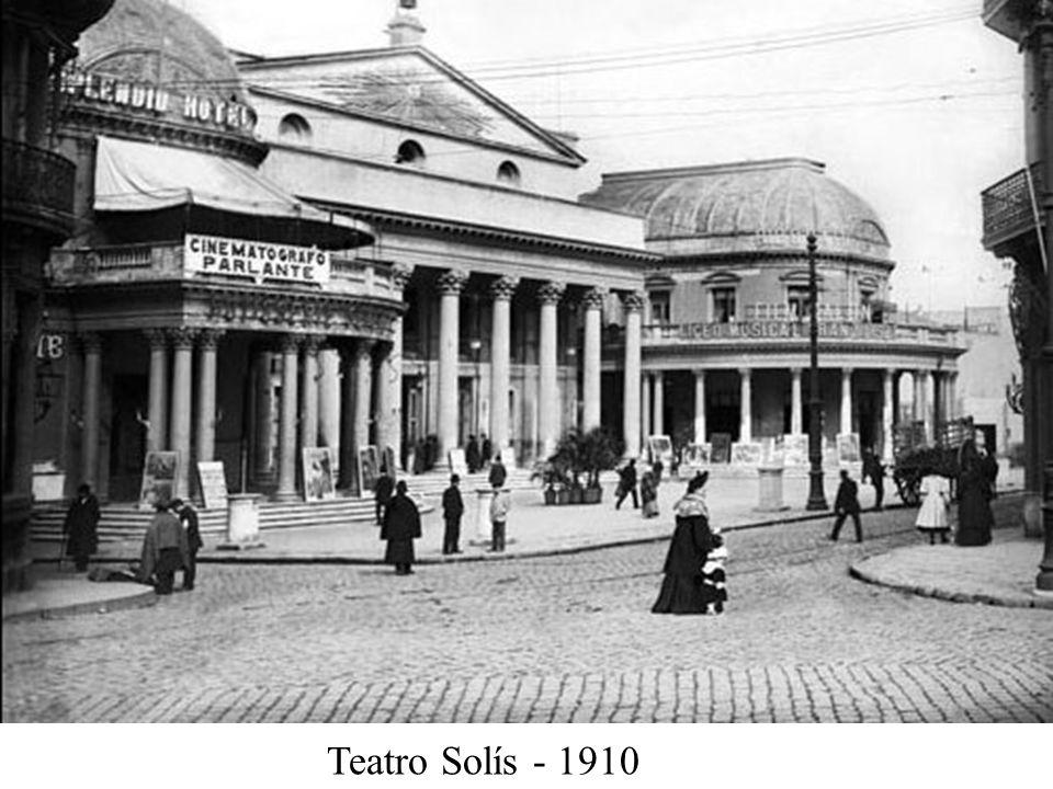 Teatro Solís - 1910