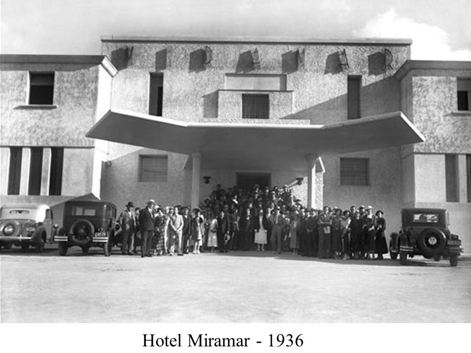 Hotel Miramar - 1936