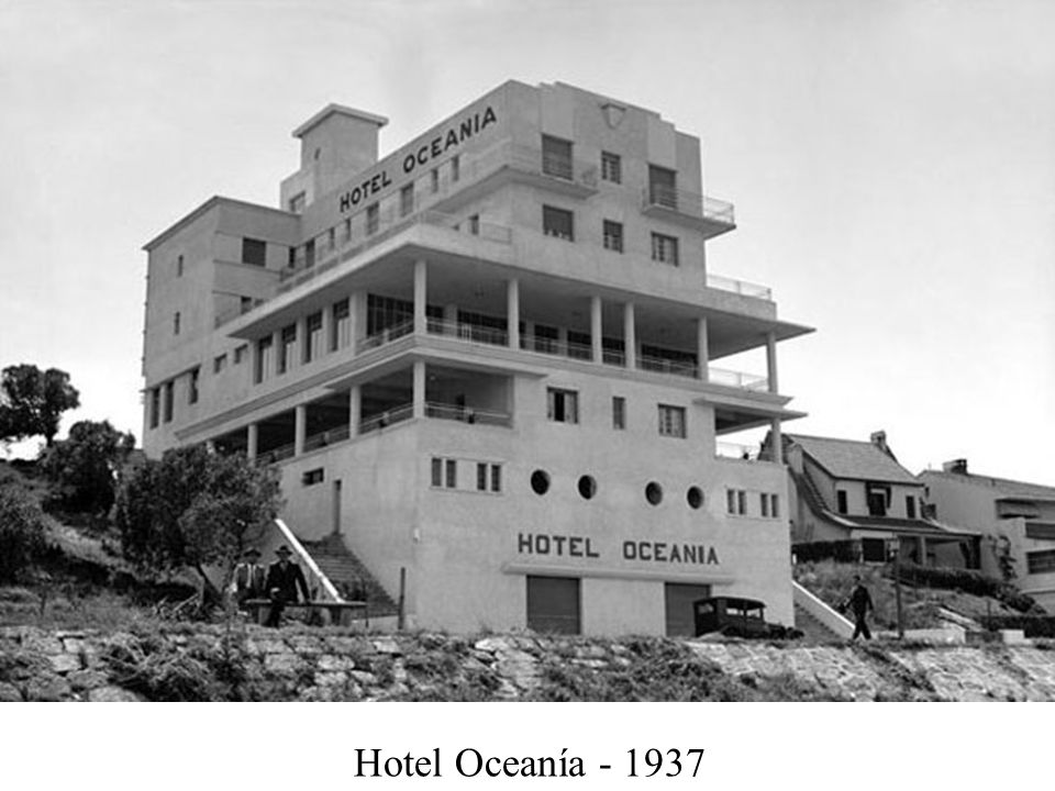 Hotel Oceanía - 1937