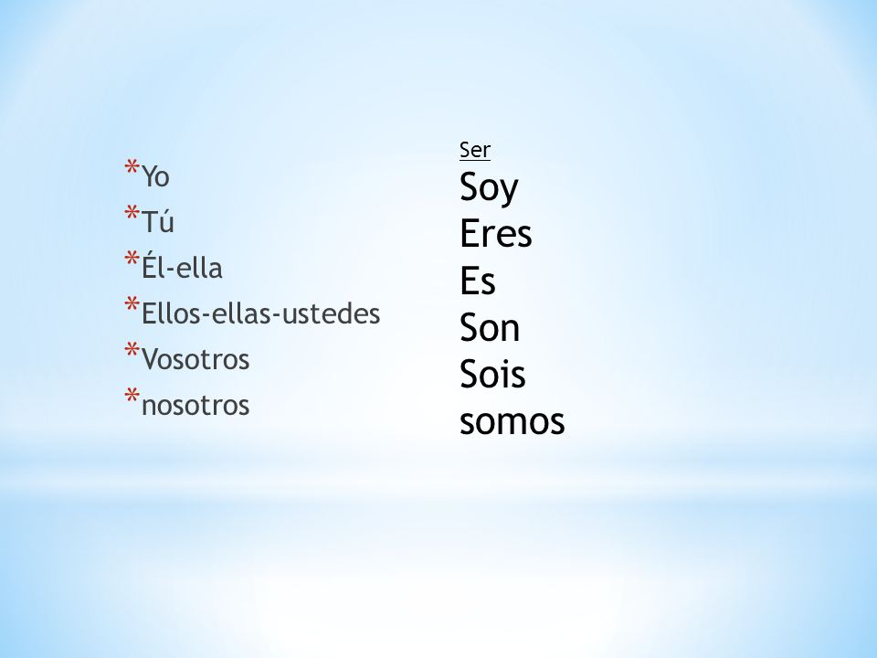 Gustar-to like, enjoy infinitive- the basic form of a verb verb-a word that expresses an action or state of being noun-a person, place, thing pronoun-substitutes noun *she, he, I like to runMe gusta correr EnglishSpanish two wordsone word ending in R