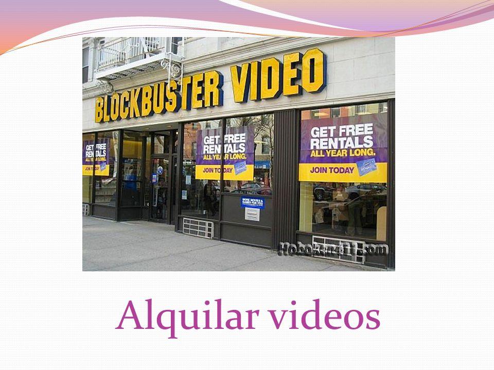 Alquilar videos