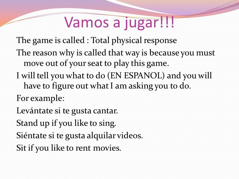 Vamos a jugar!!.