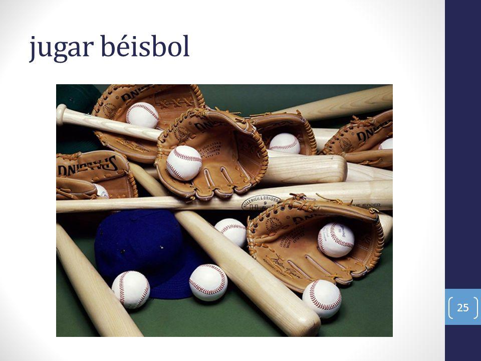 jugar béisbol 25