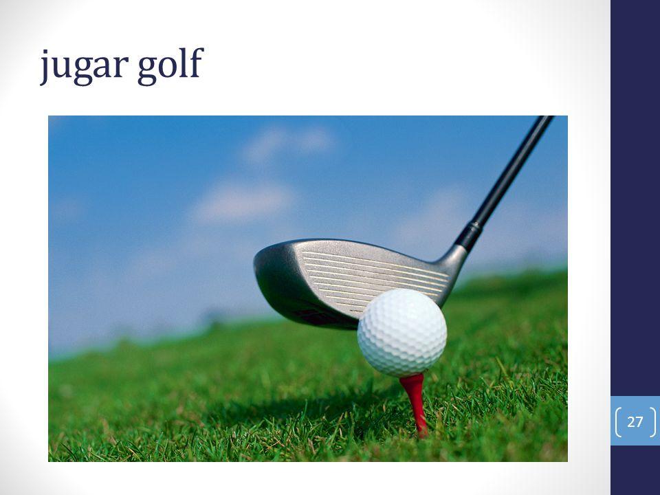 jugar golf 27