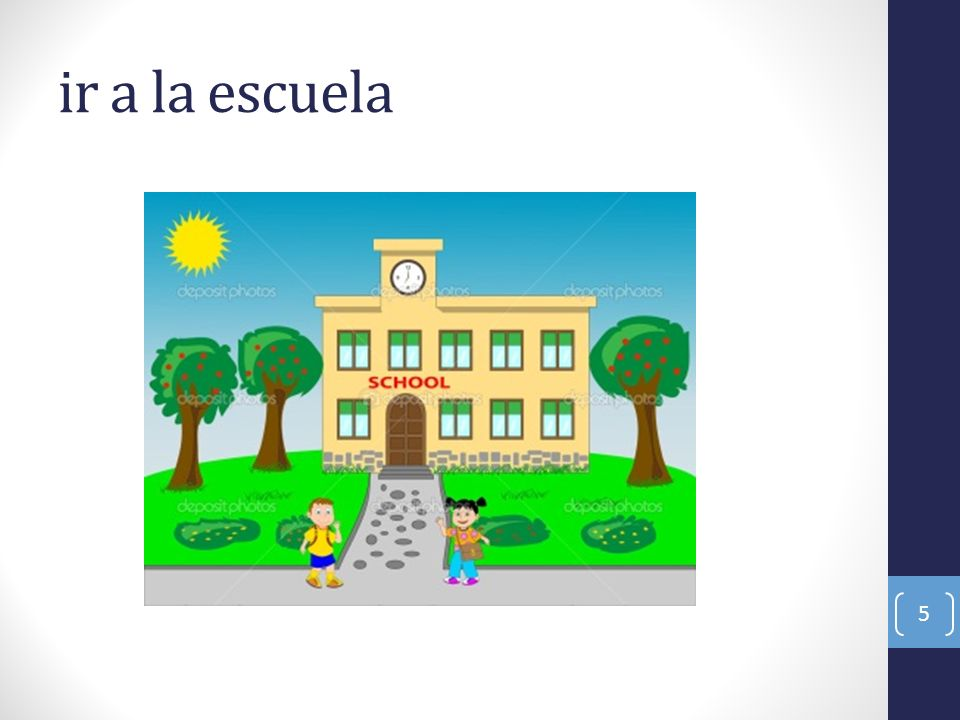 ir a la escuela 5