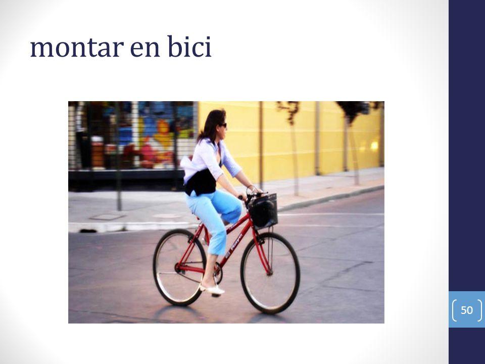 montar en bici 50