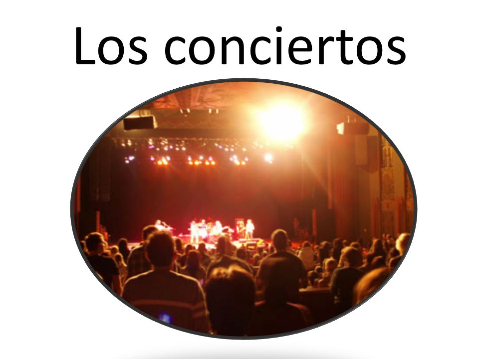 Los conciertos