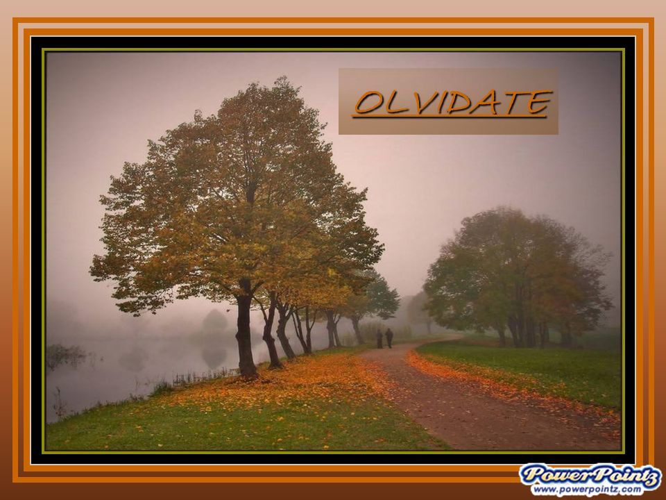 OLVIDATE