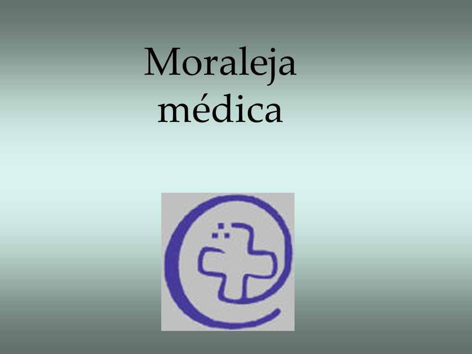 Moraleja médica