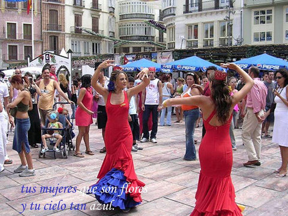 Málaga que guapa eres.. con tu mar y con tu luz