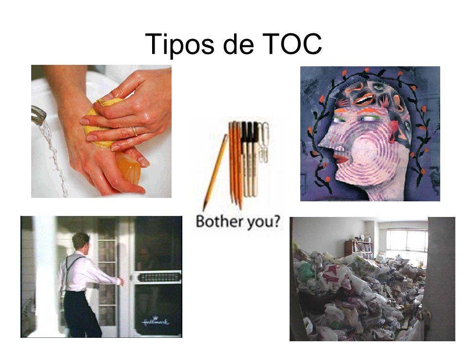 Estadísticas sobre TOC 1 de cada 50 personas 250000 Ecuatorianos Tratamientos: –Farmacológico –Psicológico –Pacientes sin tratamiento!.