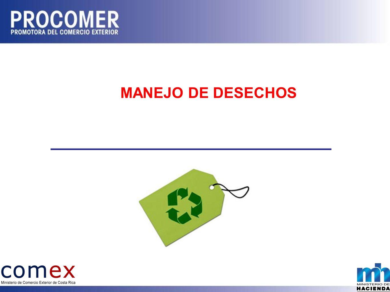 MANEJO DE DESECHOS