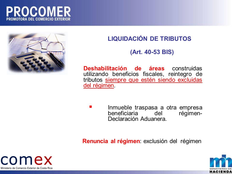 LIQUIDACIÓN DE TRIBUTOS (Art.