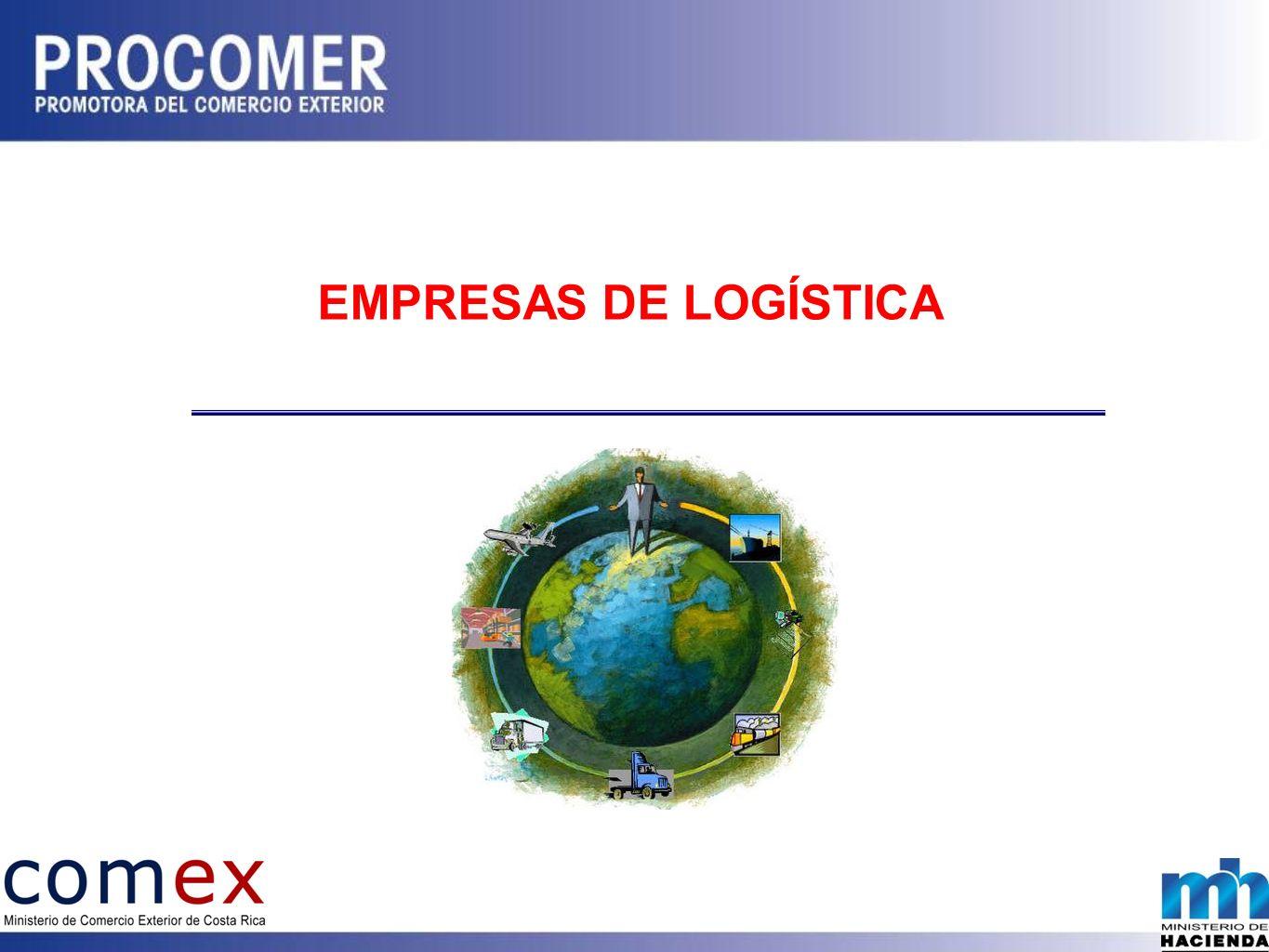 Mercancías son de un tercero Empresas ubicadas en el mercado local Empresas ubicadas en el exterior