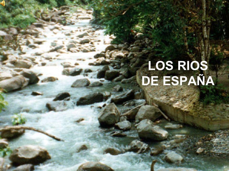 La mayoría de los ríos españoles son cortos y poco caudalosos.