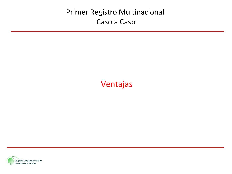 Ventajas Primer Registro Multinacional Caso a Caso