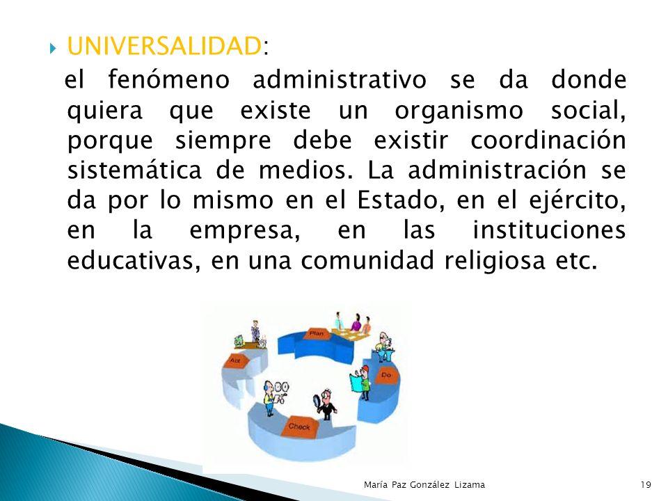 Se ha indicado que la administración proporciona los principios básico mediante cuya aplicación es factible alcanzar el éxito en el manejo de individu