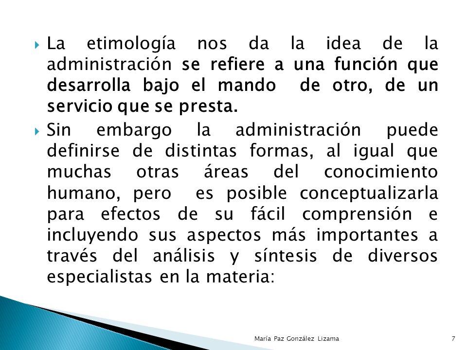 Para todos los países, mejorar la calidad de la administración es requisito indispensable, por que se necesita coordinar todos los elementos que intervienen en ésta para poder crear las bases esenciales del desarrollo como son: la capacitación, la calificación de sus trabajadores y empleados, etc.