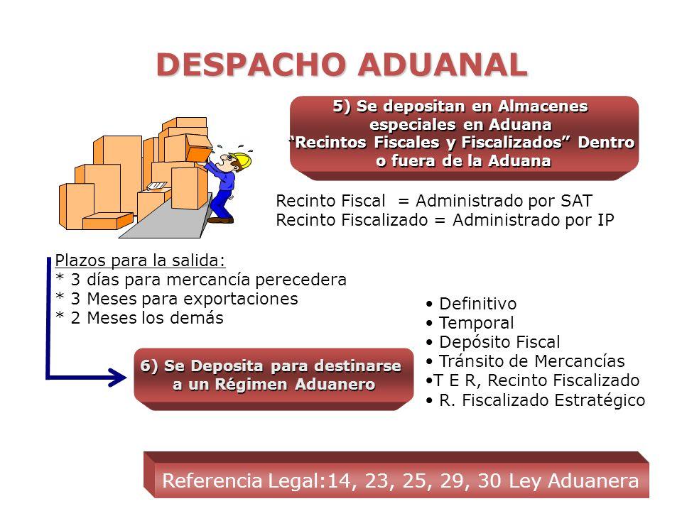 DESPACHO ADUANAL ADUANA 1)Arribo de las mercancías a Territorio Nacional Referencia Legal: 1, 10, 11, 23 Ley Aduanera ASESORIA EN COMERCIO EXTERIOR (A