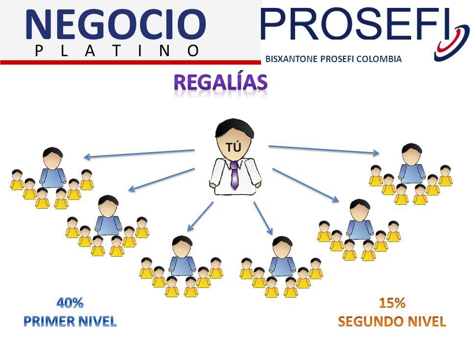 BISXANTONE PROSEFI COLOMBIA NEGOCIO P L A T I N O