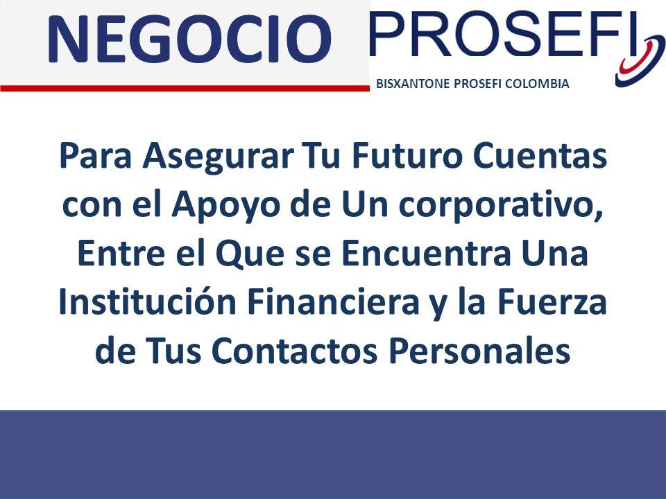 Para Asegurar Tu Futuro Cuentas con el Apoyo de Un corporativo, Entre el Que se Encuentra Una Institución Financiera y la Fuerza de Tus Contactos Pers