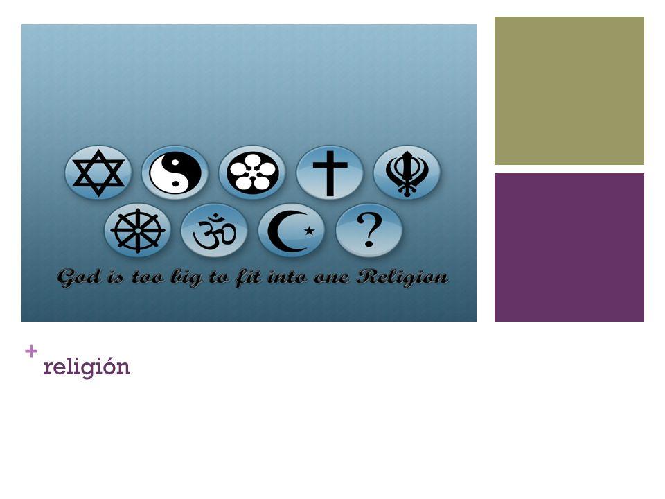 + religión