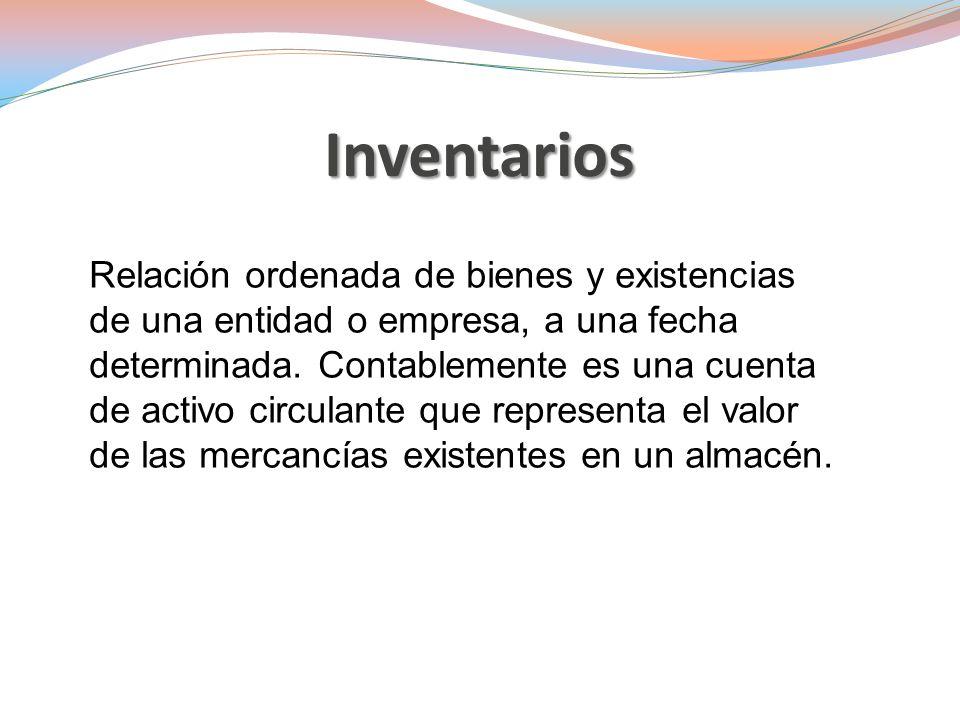 Sección 13.1 NIIF para PYMES, establece los principios para el reconocimiento y medición de los inventarios.