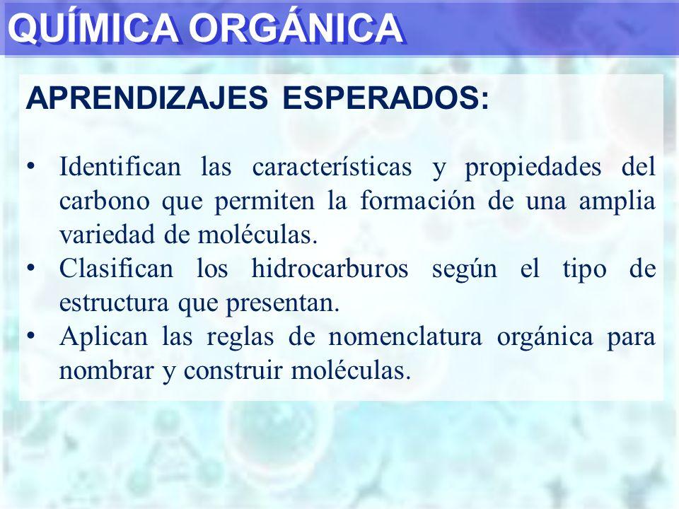 EJEMPLO 8 4-etil-2-metil-1-hexeno CH 2 -CH 3 I CH 2 =C-CH 2 -CH-CH 2 -CH 3 I CH 3 1234 5 6 Nombrar mediante método IUPAC la siguiente molécula orgánica: