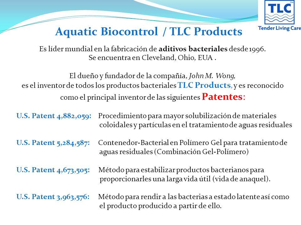 GES & TLC producen productos líquidos y en polvo a base de mezclas de bacterias vivas.