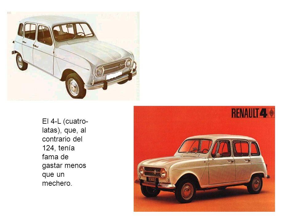Los Renault 8 y 10, qué boditos, amigos… Si recordáis aquellos característicos salpicaderos, con aquellas almenitas de alambre…