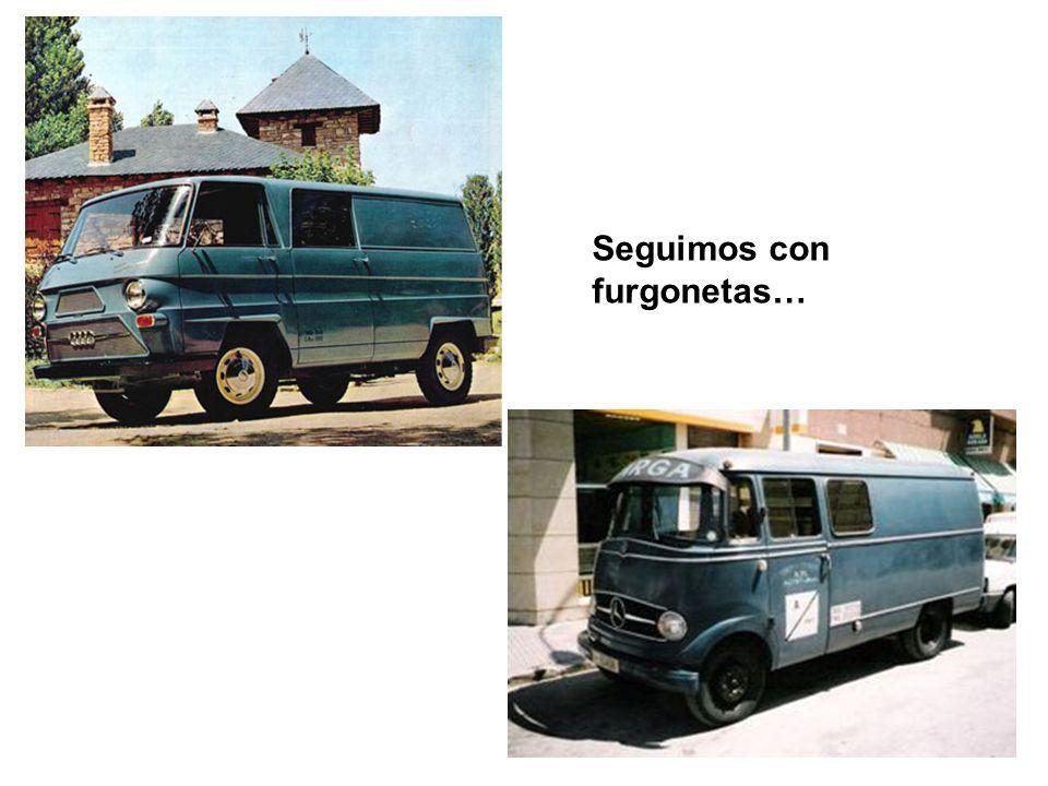 …la furgoneta DKV, con motor Mercedes Benz.