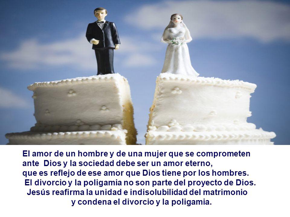 - Ante la posición del Maestro, los discípulos quedan perplejos... - Y Jesús concluye: Si uno se divorcia de su mujer y se casa con otra, comete adult