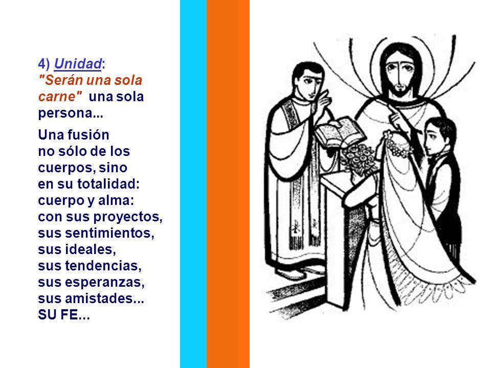 3) Hombre y mujer son iguales en dignidad. Ellos son