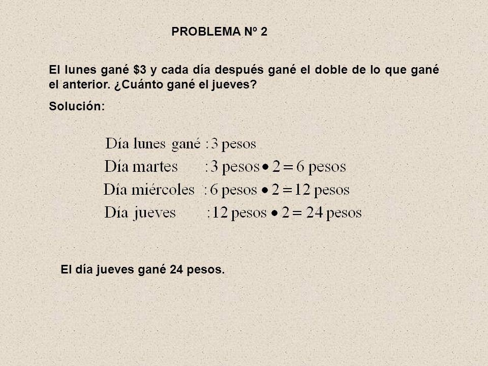 Ejemplo: El 7º término de una progresión geométrica es 1/64 y la razón 1/2.