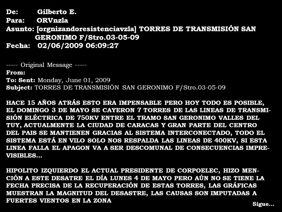 Las torres de San Gerónimo Simón Anduze G. 04-06-2009