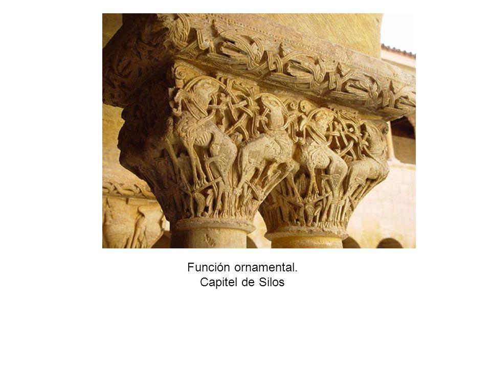 Arte románico Escultura Portada de Platerías Tímpano da esquerda.