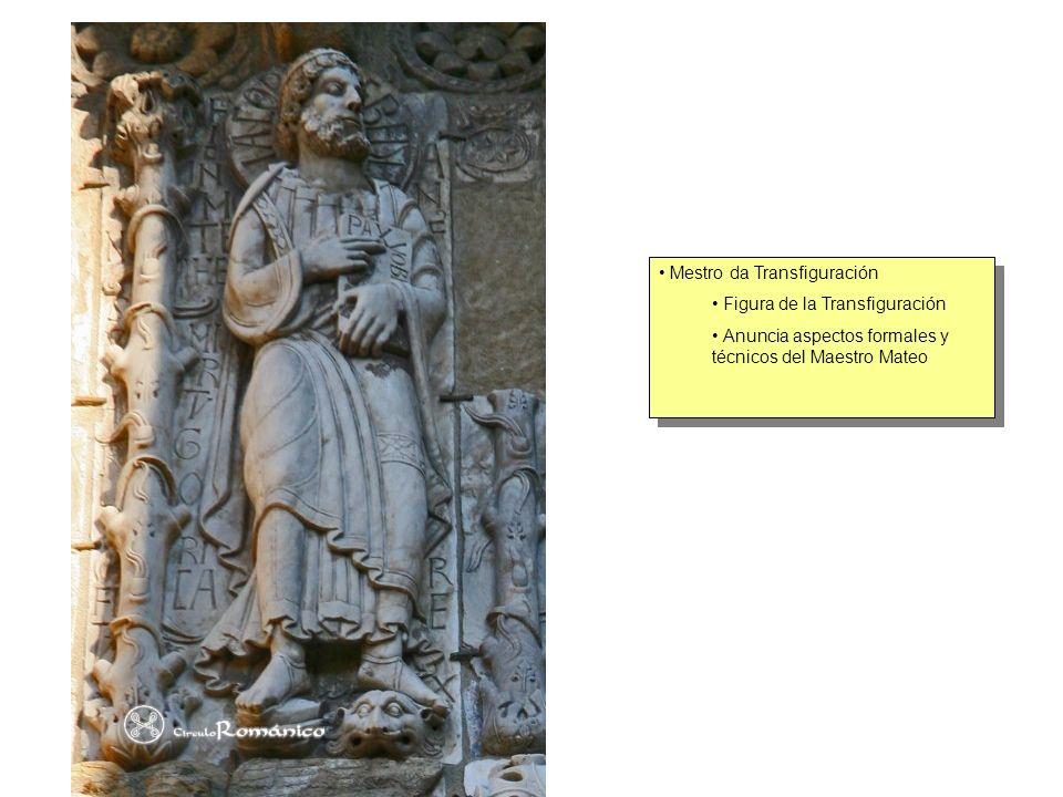 Mestro da Transfiguración Figura de la Transfiguración Anuncia aspectos formales y técnicos del Maestro Mateo Mestro da Transfiguración Figura de la T