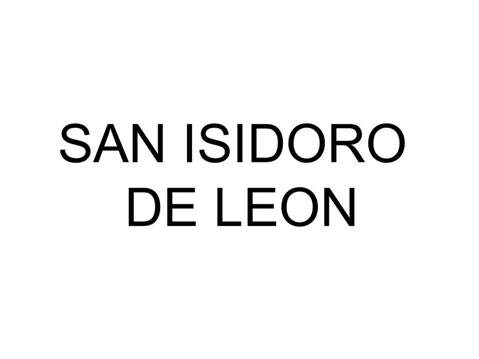 SAN ISIDORO DE LEON