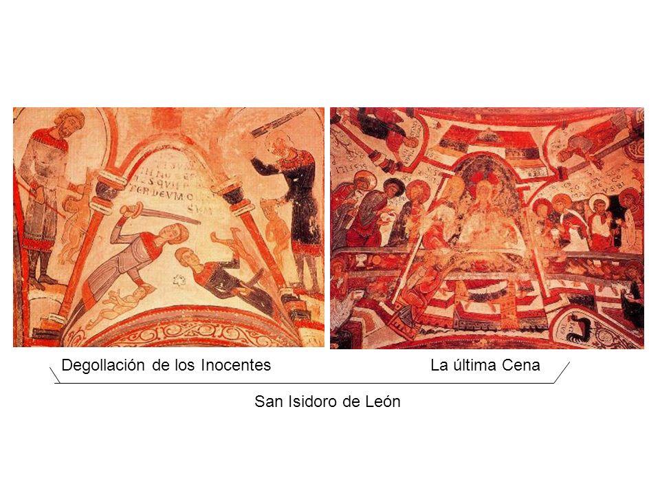 Degollación de los InocentesLa última Cena San Isidoro de León