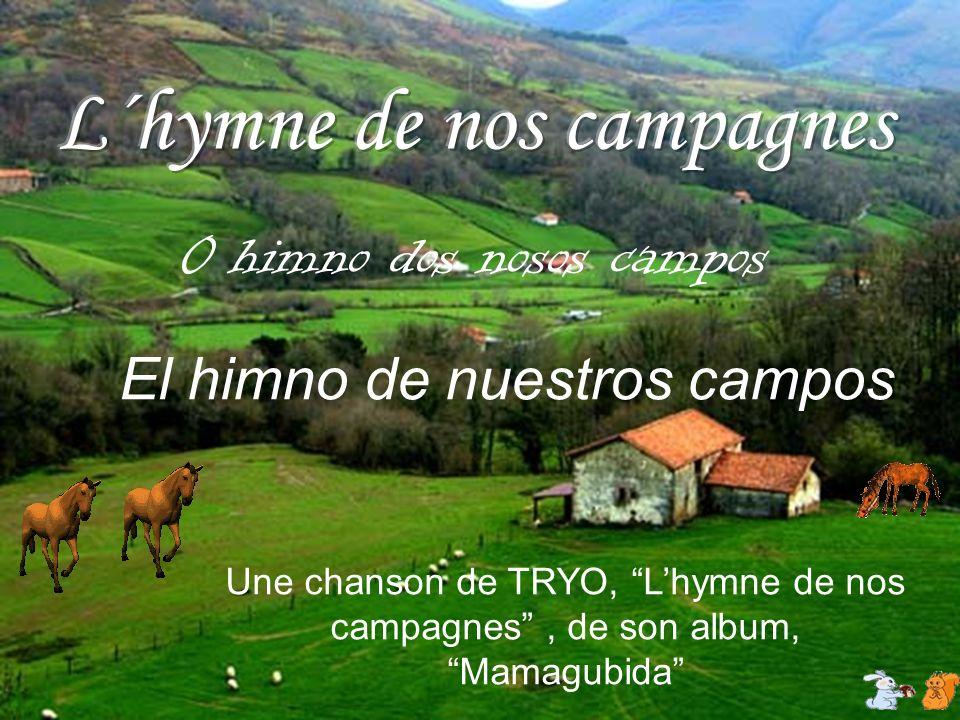 El himno de nuestros campos Une chanson de TRYO, Lhymne de nos campagnes, de son album, Mamagubida 0 himno dos nosos campos