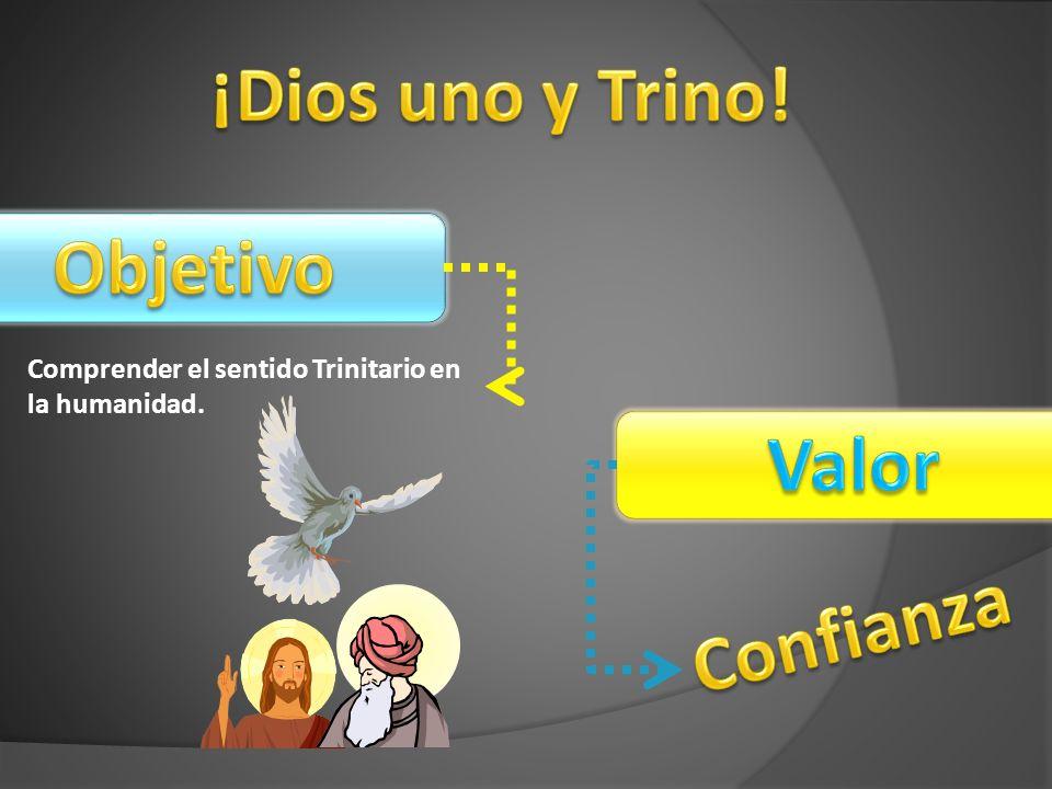 Comprender el sentido Trinitario en la humanidad.