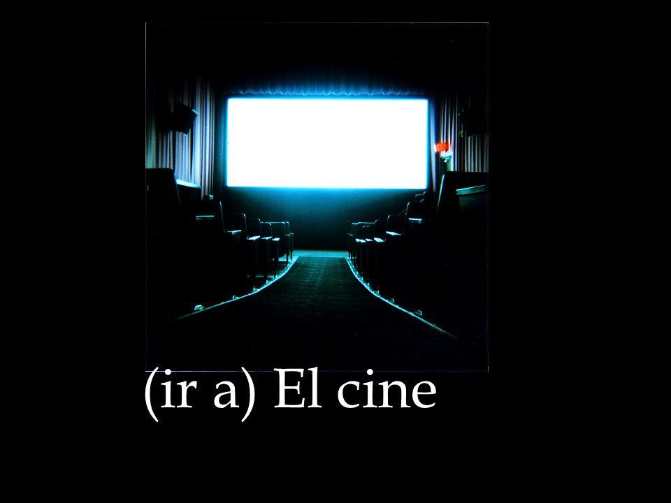 (ir a) El cine
