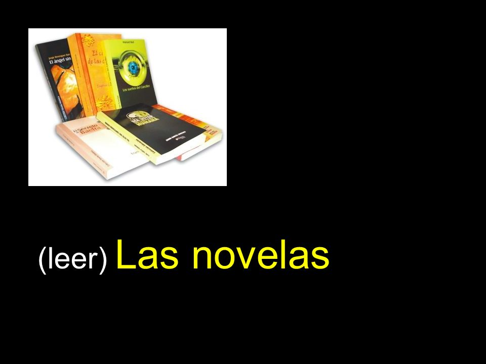 (leer) Las novelas