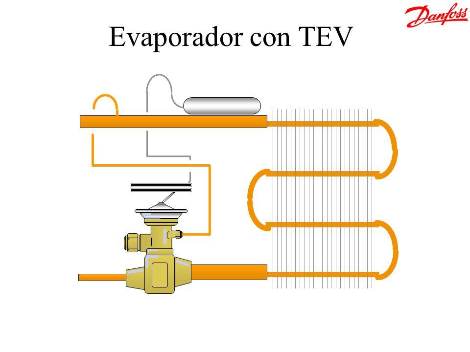 Evaporador con TEV