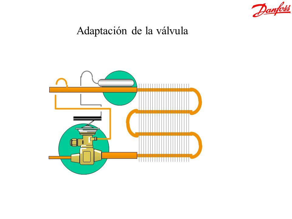 Adaptación de la válvula