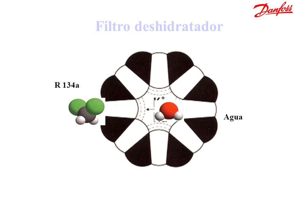 R 134a Filtro deshidratador Agua