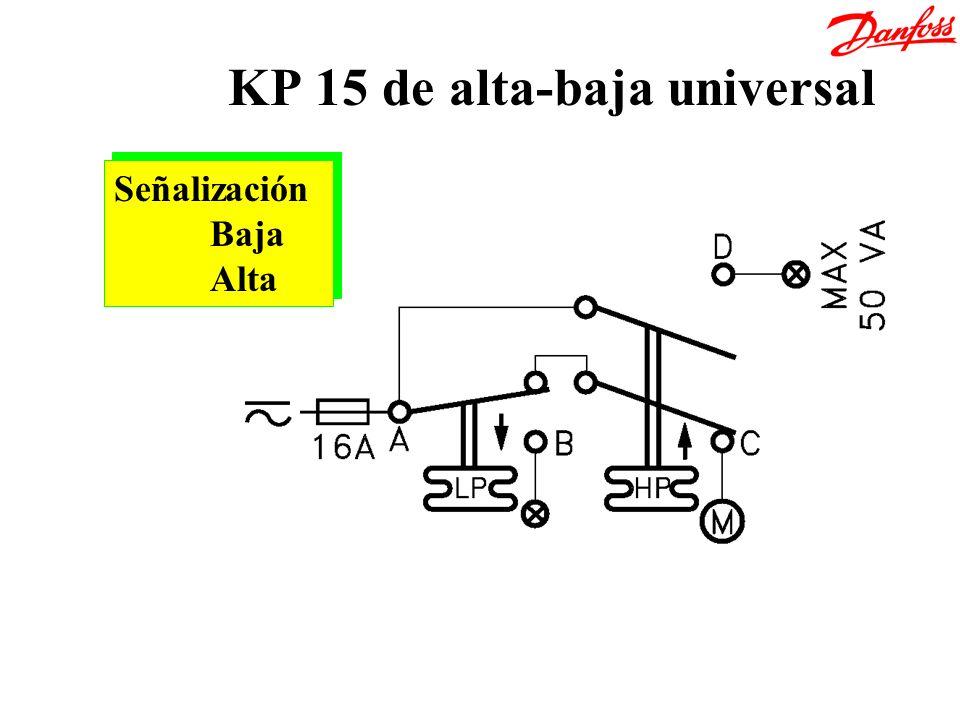 KP 15 de alta-baja universal Señalización Baja Alta Señalización Baja Alta